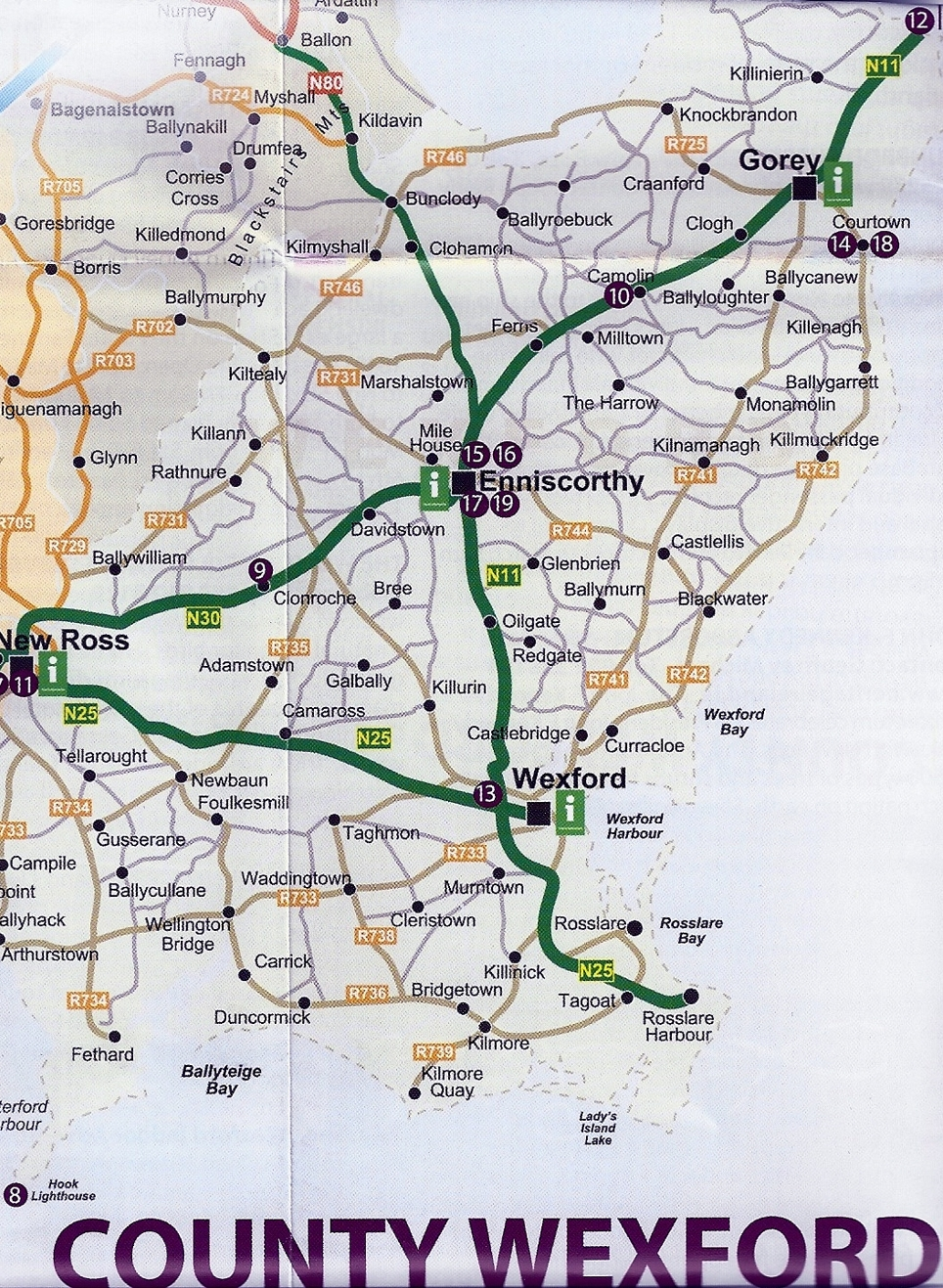 Wexford Map Of Ireland.Woodlands Country House Ireland Place To Visit In Wexford